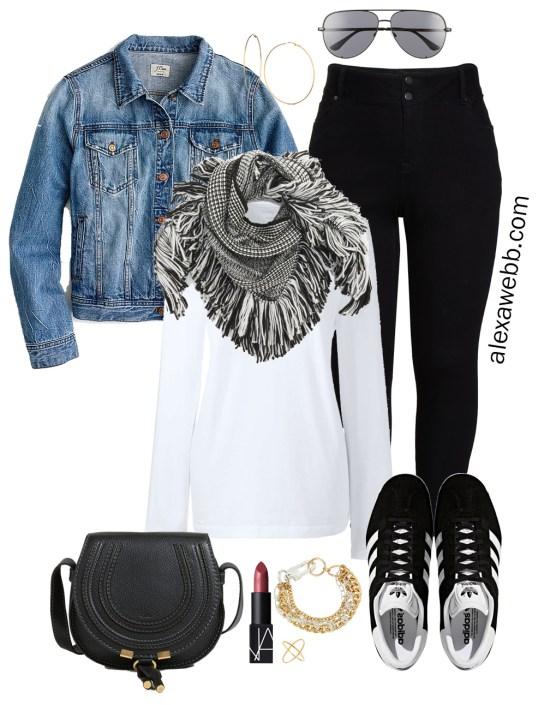 Plus Size Fall Monochromatic Basics Capsule Wardrobe - Plus Size Fashion for Women - alexawebb.com #plussize #alexawebb