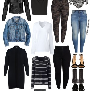 Plus Size Fall Capsule Wardrobe - Plus Size Fashion for Women - alexawebb.com #plussize #alexawebb