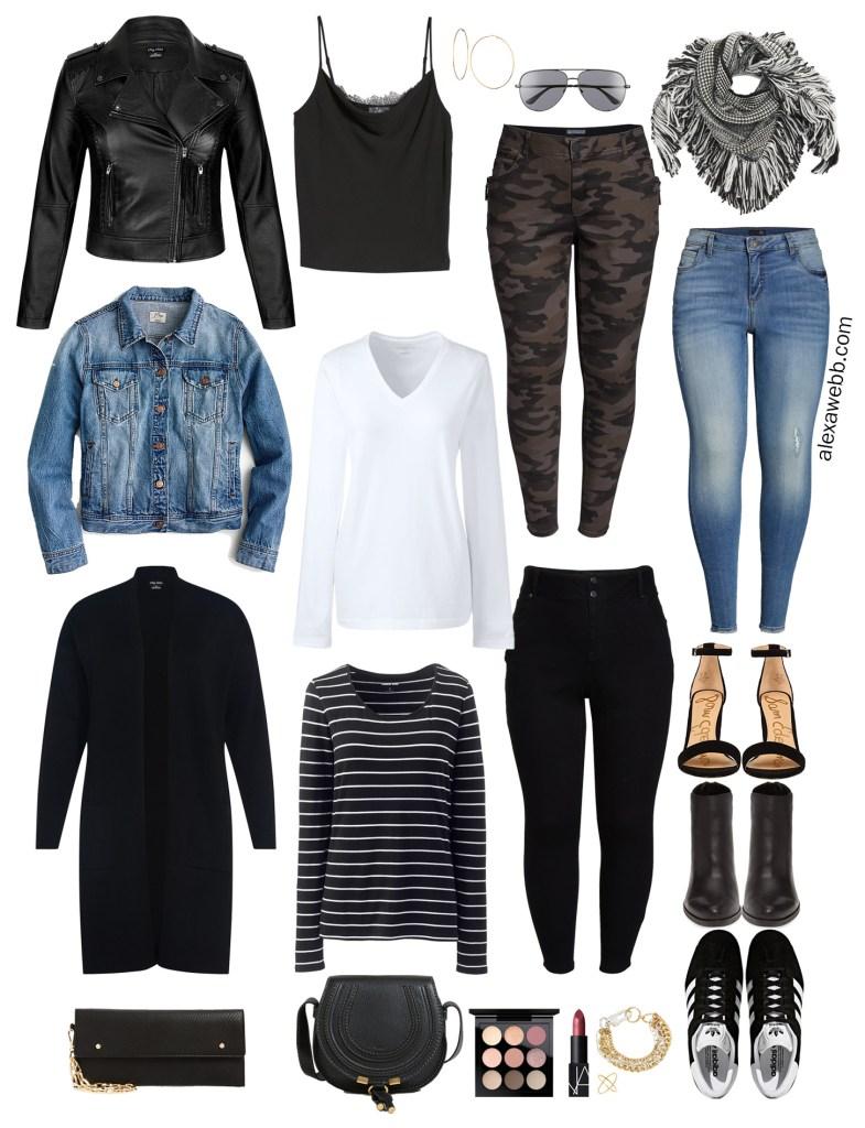Plus Size Fall Capsule Wardrobe - Plus Size Fashion for Women - alexawebb.com #plussize #alexawebb