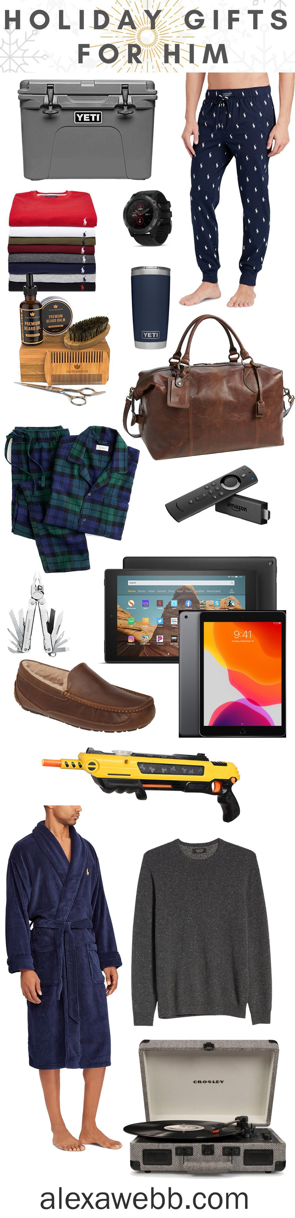 2019 Gift Ideas for Men a Gift Guide for Men - Alexa Webb