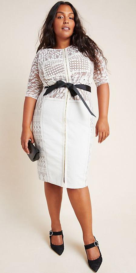 42 Plus Size Holiday Party Dresses with Sleeves - Alexa Webb #plussize #alexawebb