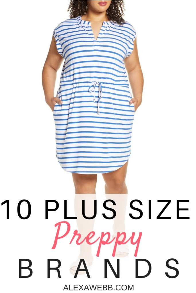 10 Plus Size Preppy Brands to Know - Alexa Webb - Plus SIze Fashion for Women - #alexawebb #plussize