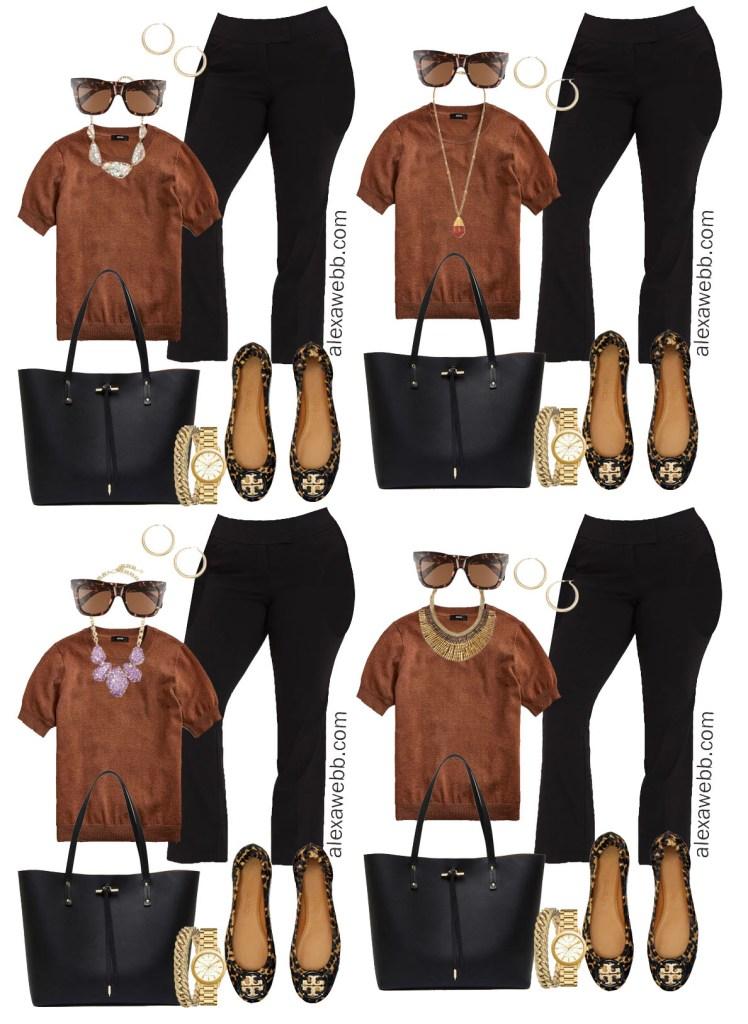 Plus Size Fall Work Capsule Wardrobe - Plus Size Workwear for Fall - Alexa Webb #plussize #alexawebb