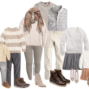 Size-Inclusive Fall Family Photo Outfits