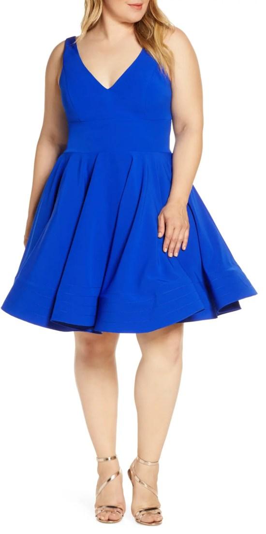 Plus Size Summer Wedding Guest Dresses - Plus Size Wedding Outfit Ideas - Alexa Webb