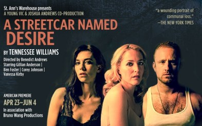 A Streetcar Named Desire   Young Vic / St Ann's Warehouse NY