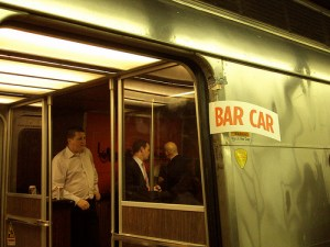Metro-North Bar Car