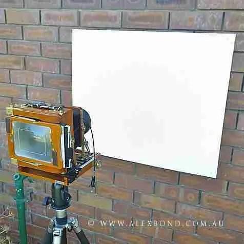 Film speed test Zone 10 film exposure test