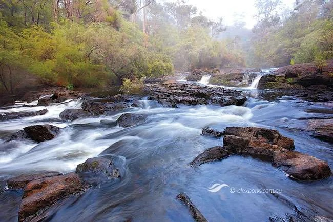 Cascades Lefroy Brook Gloucester National Park Pemberton Southern Forests Series Postcards
