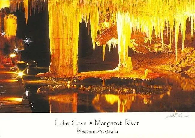 Lake Cave Postcards Suspended Table Margaret River