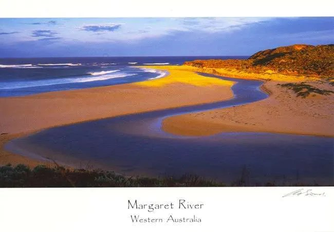 Margaret River Prevelly Park Postcard