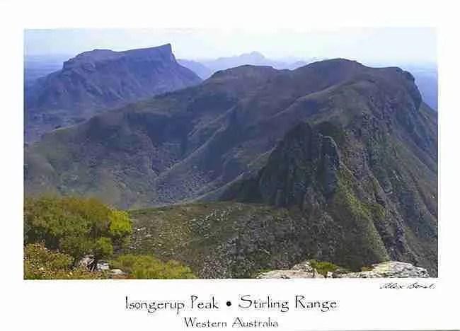 Stirling Range Postcards