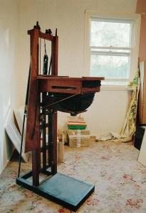 English wooden enlarger
