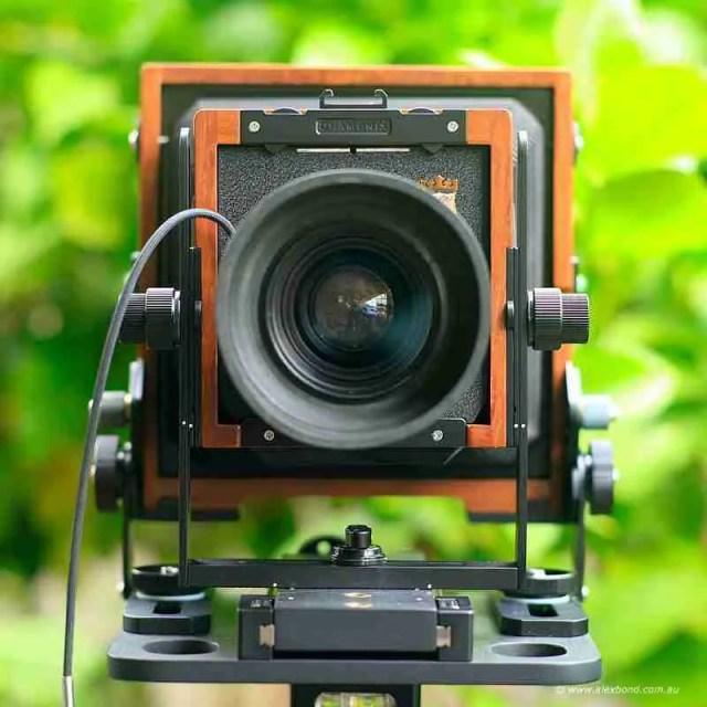 lens neutral Chamonix F2 4x5 camera