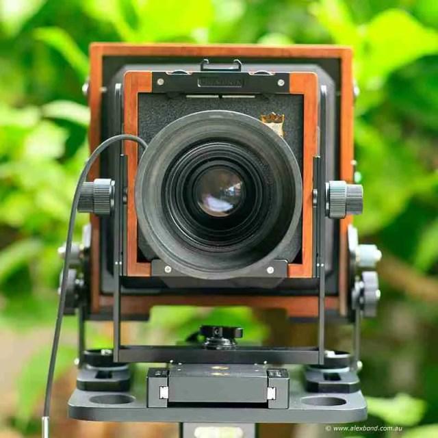 front Chamonix large-format camera movements