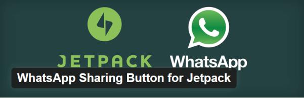 Plugin WordPress Jetpack WhatsApp