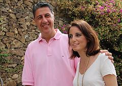 Xaiver García Albiol y Andrea Levy