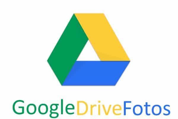 Como guardar fotos en Google Drive
