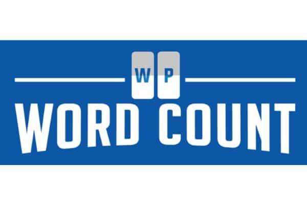 Plugin WP Word Count WordPress