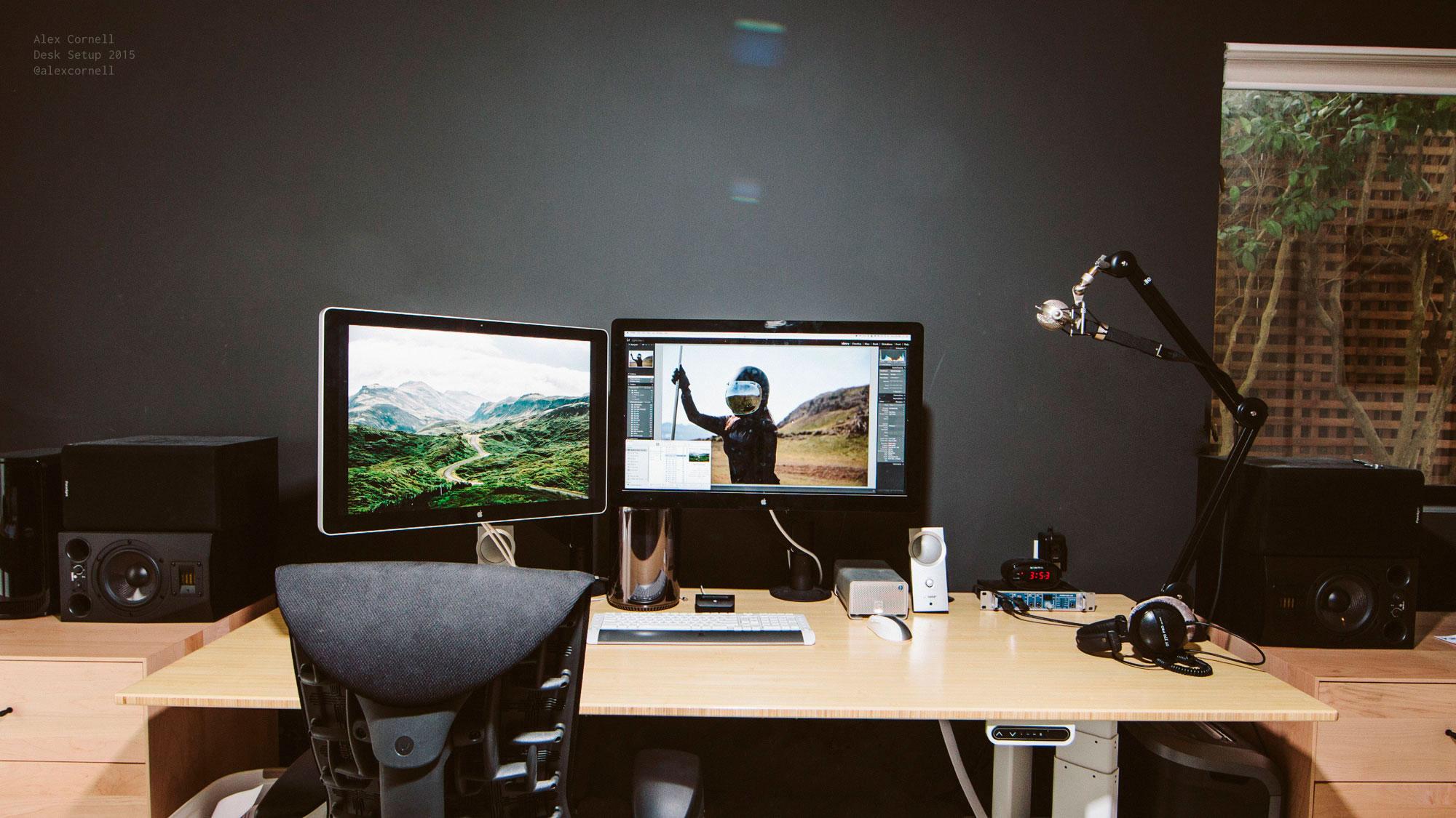 Working From Home My Desk Setup  Alex Cornell  Alex