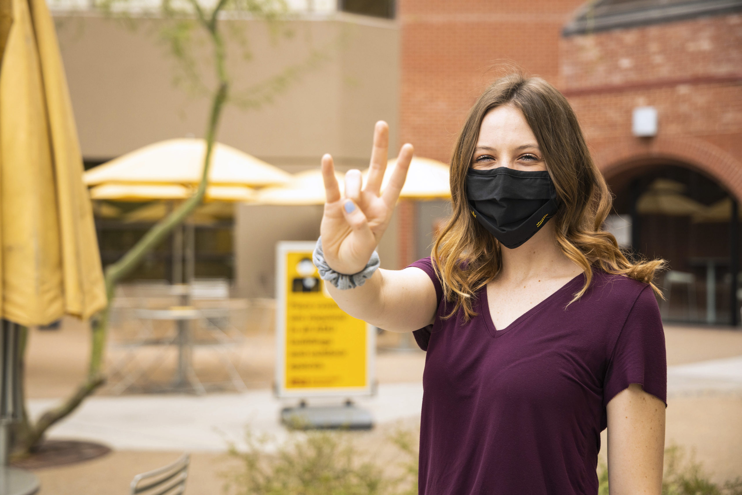 Forks Up Masks Up — ASU Downtown Phoenix Campus — Student Life