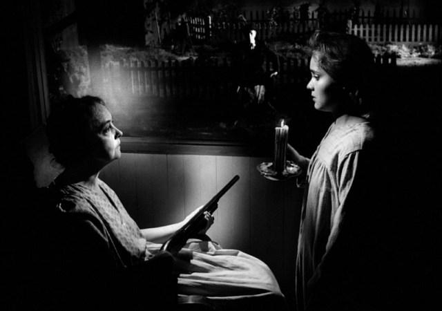 Lillian Gish and Sally Jane Bruce