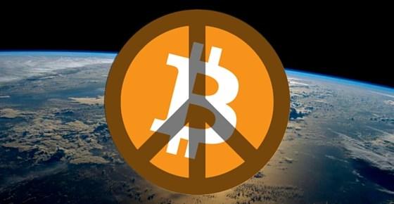 peace on earth with Bitcoin
