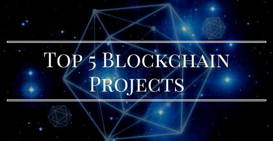 Top 5 Blockchain Projects