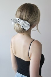 easy summer hairstyles with scarf