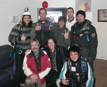 Sky Diving Fundraiser for Alex