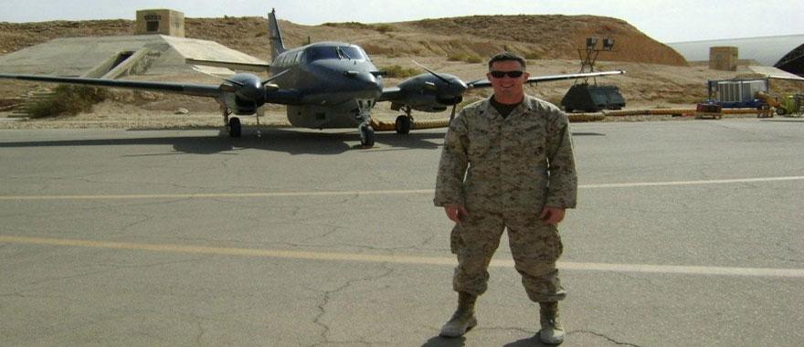 Alex Gilmer, USMC Sergeant