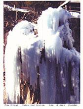 Alex Ice Climbing 1-19-03