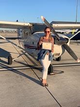 Chelsea Montgomery 2020 Alex Gilmer Flight School Scholarship Recipient