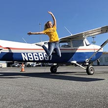Gemma Nowak Alex Gilmer Flight School Scholarship Recipient Update