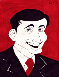 Steve Carrell Caricature