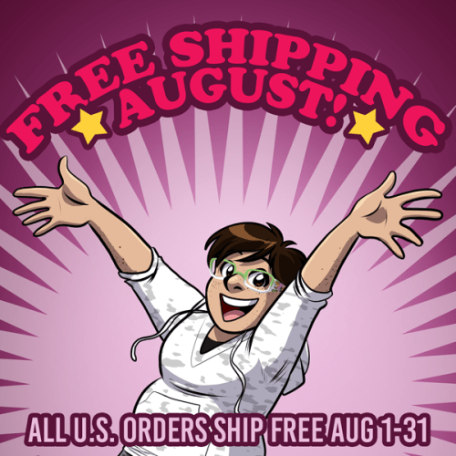 free shipping august