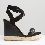 River Island Black espadrille wedges
