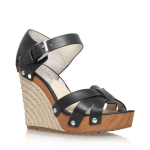 Michael Michael Kors black wedge sandal