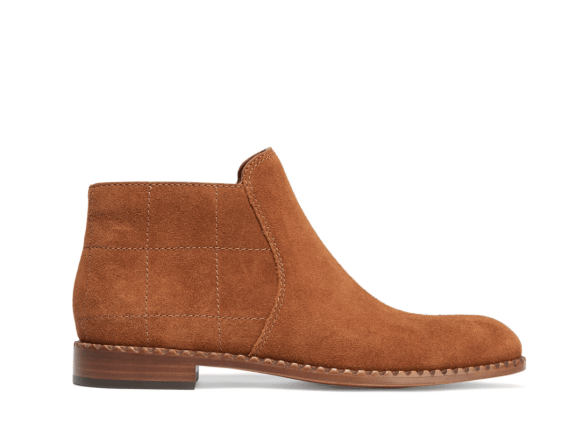 Marc by Marc Jacobs suede tan ankle boots