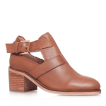 Carvela Tan cut out ankle boots