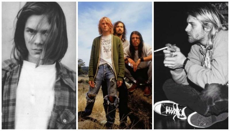 '90s Grunge Style Icons Kurt Cobain River Phoenix Nirvana