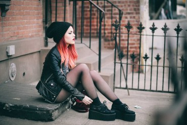 How-to-Dress-Grunge-Street-Style