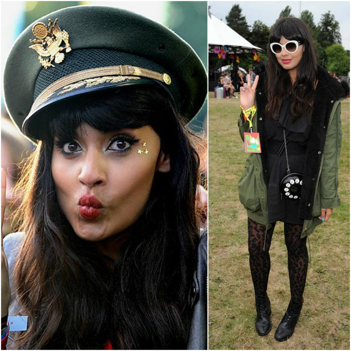 Jameela Jamil Festival Outift - what to wear to a gig celeb inspiration