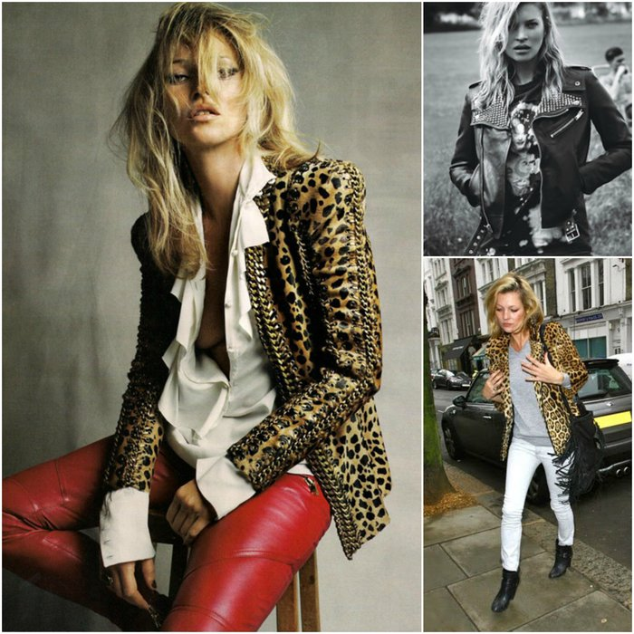 Kate Moss Rock Chic Style - what to wear to a rock concert celeb inspiration