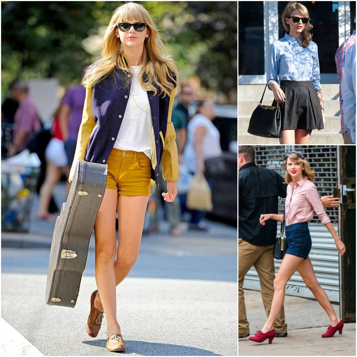 Taylor Swift Fashion Style Country - what to wear to a country concert celeb inspiration