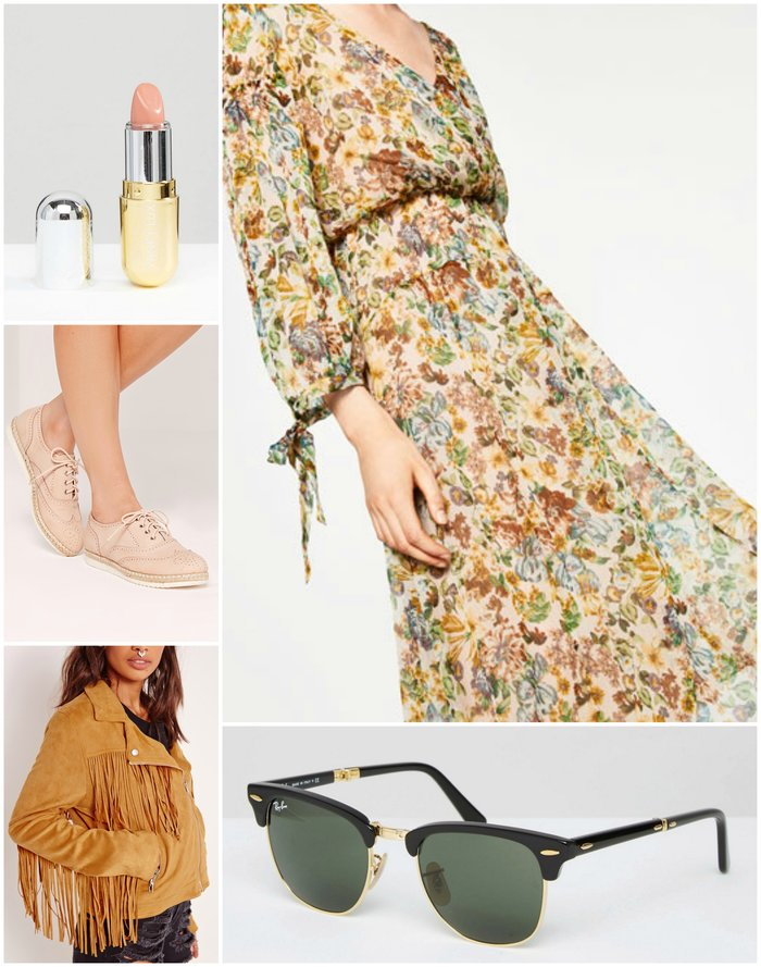Womens Outfit Grid - What to Wear to a Country Music Concert Outfit