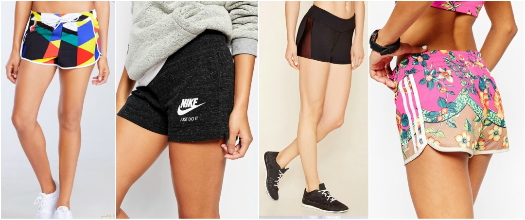 Womens best workout shorts for the gym