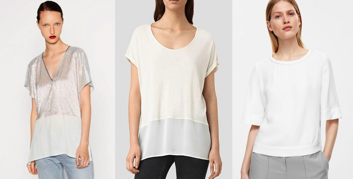 outfit grid white t shirts dressy tee women fashion