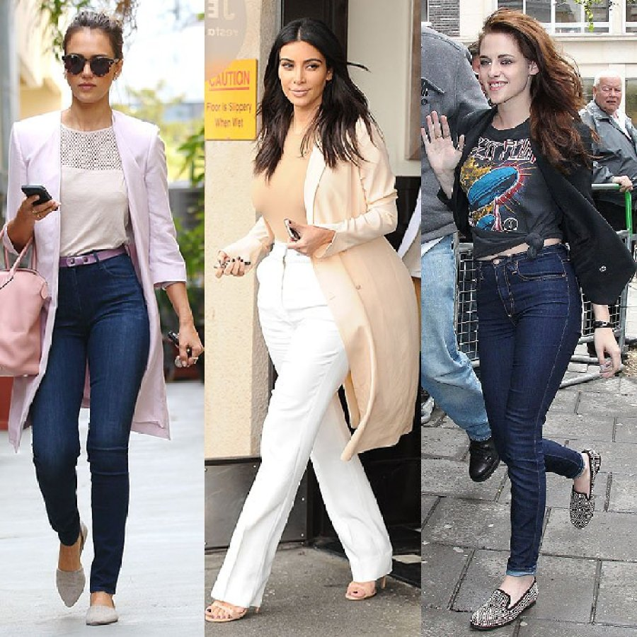 Long Jacket High Waist Jeans Style Fashion Women Guide Street Celebrity Outfit Inspiration
