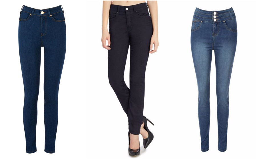 Skinny High Waist Jeans Shop Grid Alexie 2